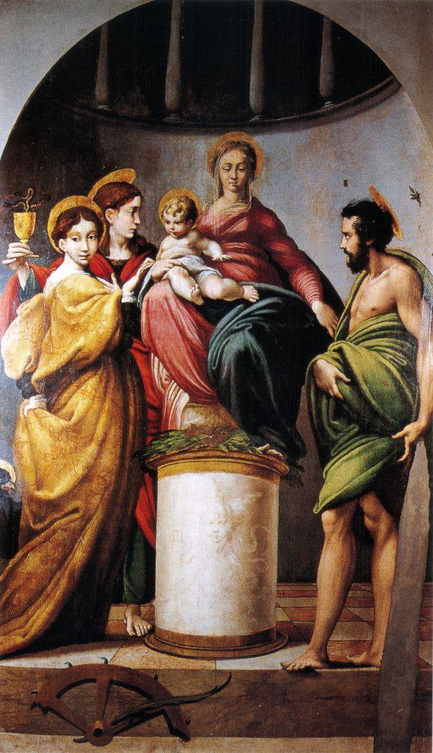 Parmigianino, The Bardi Altarpiece, 1521, Church of Santa Maria, Bardi
