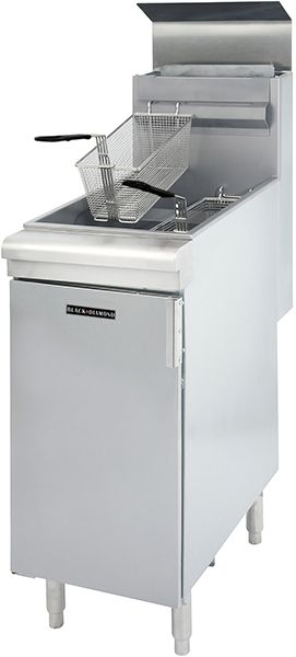 Check out the deal on Adcraft Black Diamond BDGF-90/NG 90 BTU Gas Fryer NG at Restaurant Equipment and Supplies Online : Restaurant Depot
