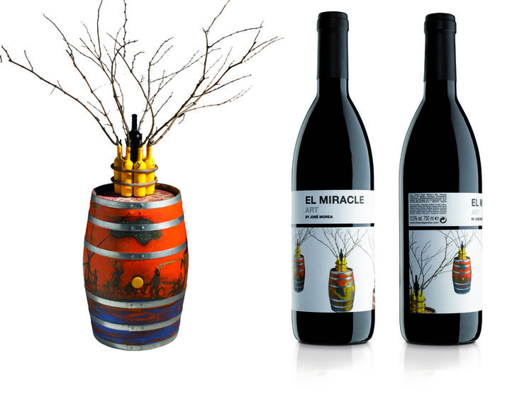 Artwork for a new range of young, cosmopolitan wines from Vicente Gandia's Winery.