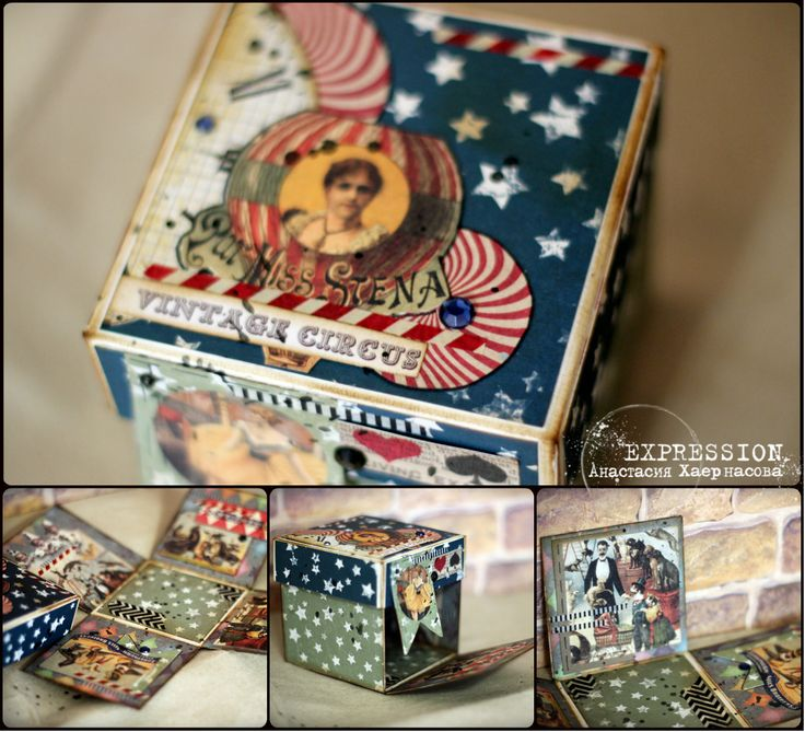 "Блог Scrapberry's: Коллекция месяца ""Старый цирк"""