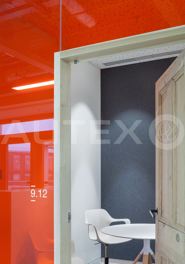 Autex Acoustics - Cube™ - Havas Media London, UK - Colours: Flatiron - Direct Fix to Wall - Modern Office Space