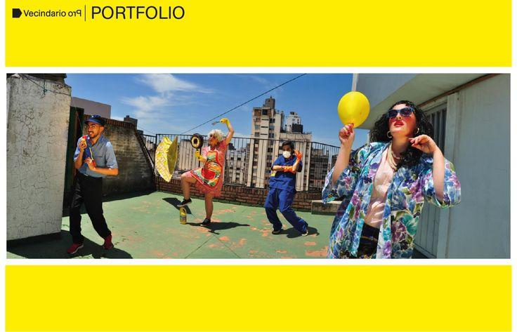 Clase 14/11 Vecindario Pro / Proyecto curatorial / Basado en la poética de Marcos López