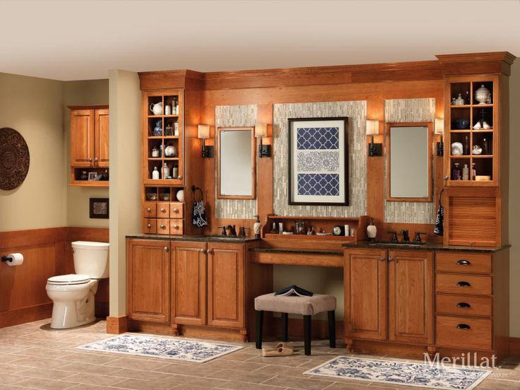 Merillat classic somerton hill in cherry amaretto with for Kitchen cabinets zeeland mi