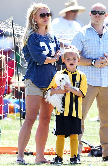 Britney Spears and her son!
