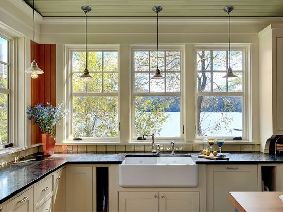old country kitchens that are with lots of windows | Love lots of windows in the…