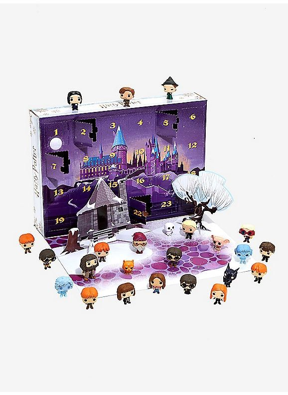 Calendrier De Lavent Harry Potter Funko Pop.Hot Topic Funko Harry Potter Pocket Pop Advent Calendar