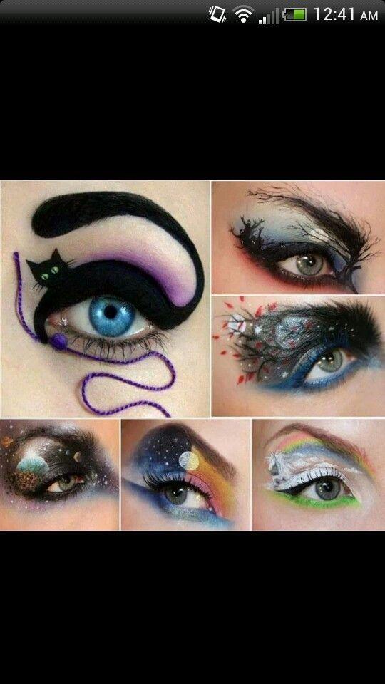Halloween makeup by mmanuella
