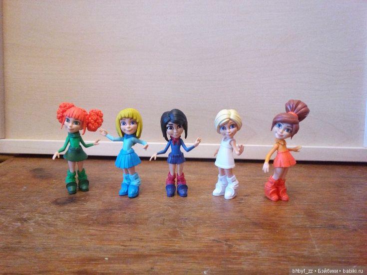 """Коллекция из 5 кукол """"Я волшебница"""" / Коллекционные, интерактивные игрушки / Шопик. Продать купить куклу / Бэйбики. Куклы фото. Одежда для кукол"""