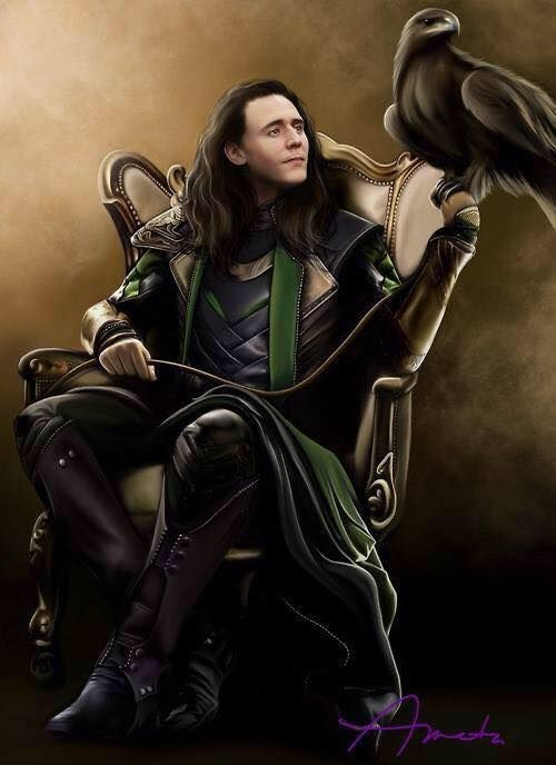 Loki fan art. Repinned to be my cover photo...in my quest to have Tom on as many cover photos as is possible.