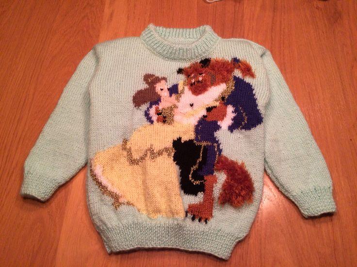Belle en het beest trui...