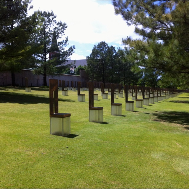 Will remember this day til the day I die. OKC Memorial 04/19/95