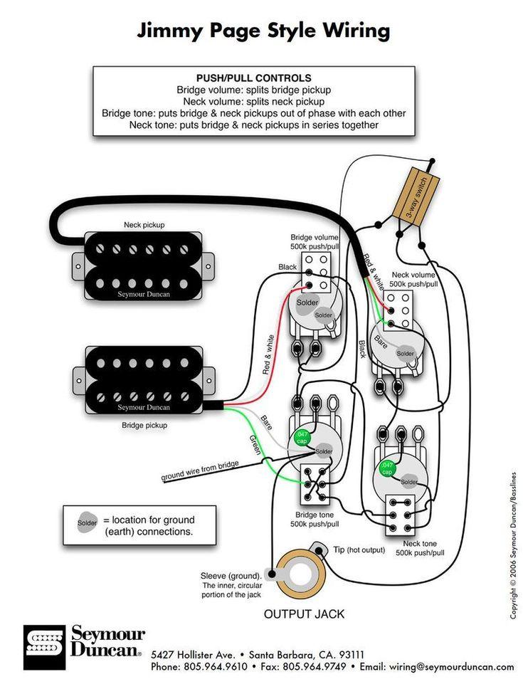 Diagrams - Les Paul Jimmy Page