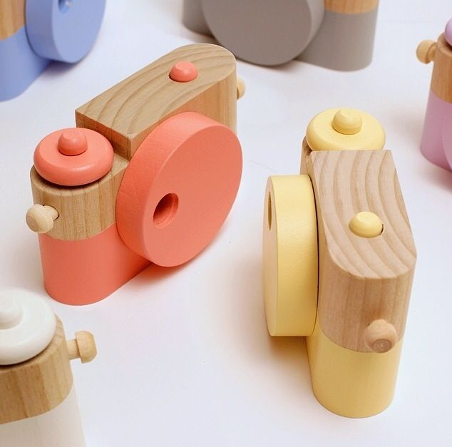 Twig Creative Wood Play Cameras | Darling Clementine