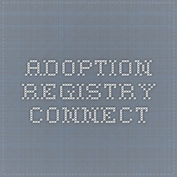 Adoption Registry Connect