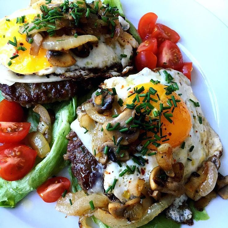 Enkelt og godt Karbonader med ost og egg stekt sopp og løk. #enkelmiddag #lchf #lavkarbo #lowcarb #lavkarbolivsstil #glutenfri #sukkerfri #renmat #cleaneating #nosugar #healthychoices #dinner #happybody #ketogenic #summer #norge #norway by lchf_foodhealth