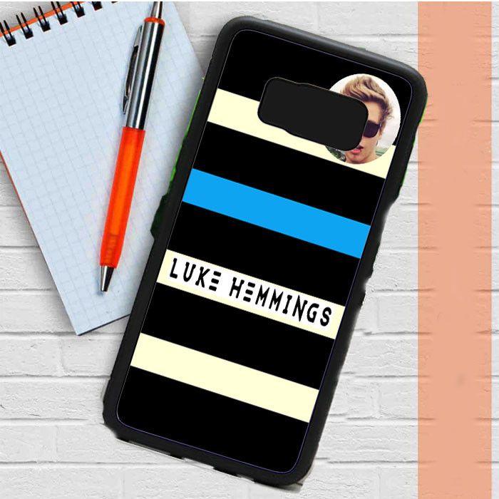 Luke Hemming 5Sos Photo Logo Samsung Galaxy S8 Plus Case Dewantary
