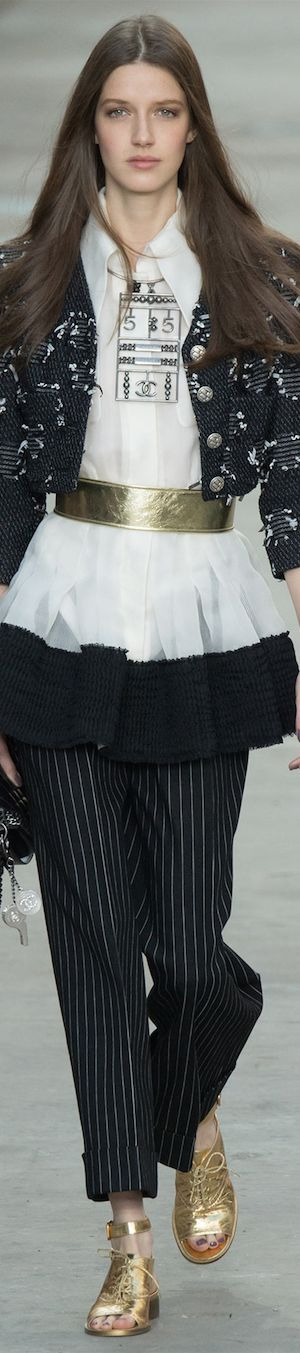 LOOKandLOVEwithLOLO~SPRING 2015 RTW......featuring Chanel