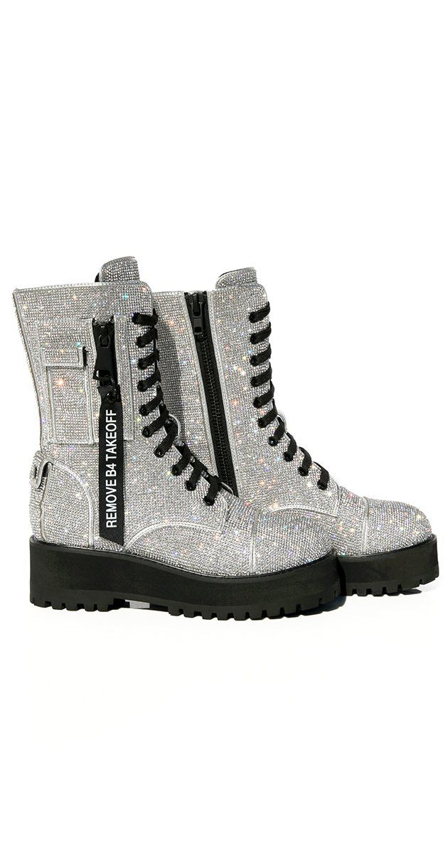 Billionaire Bling Boots