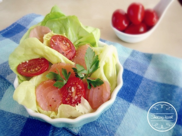 Enjoy this lovely salad! :)