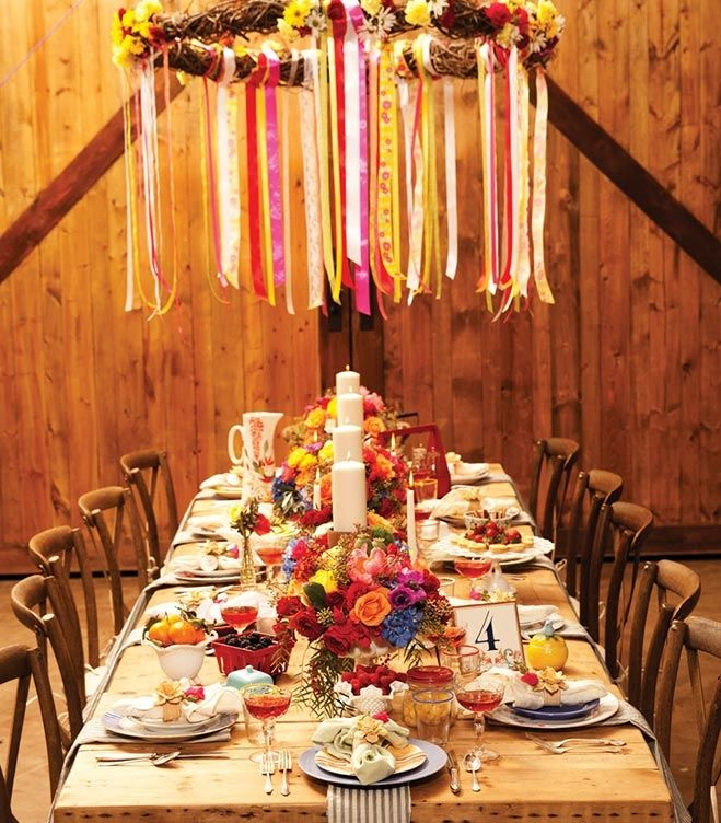 Fortunate Feast Scandinavian Inspired Table Decor