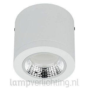 Dimbare LED Downlight Opbouw Wit 450 lumen van Artecta. #opbouwspot #ledverlichting #dimbaar #plafondspot #downlight