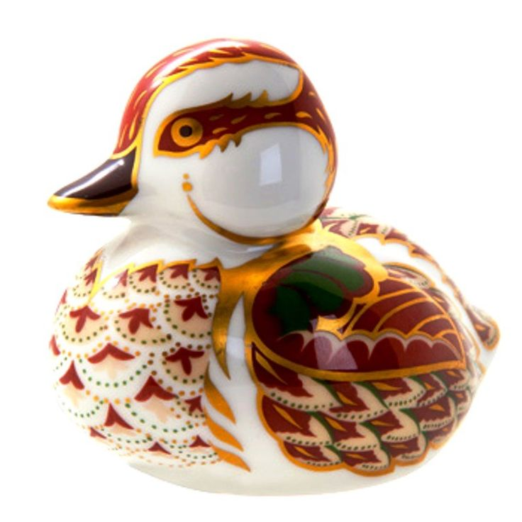 Royal Crown Derby Paperweight - Bakewell Duckling