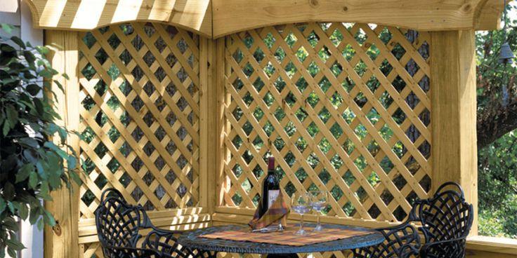 Discover beautiful ways to use wood lattice, plastic lattice, paintable lattice and project panels.