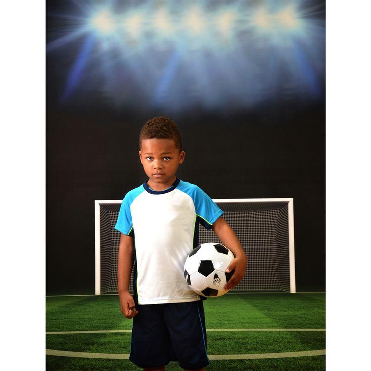 Soccer Goal Printed Backdrop