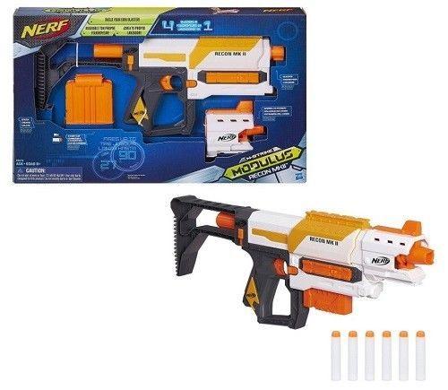 Nerf Recon MKII Blaster Gun Modulus Series Kids Toy Fun Play Game Christmas Gift #Nerf