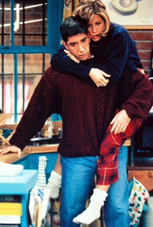 """""""You're over me? When were you…under me?""""  - Ross Geller"""