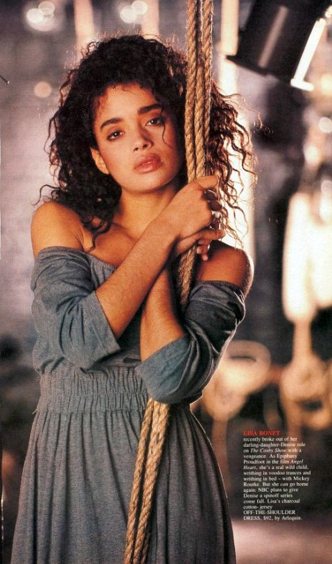 "bibberly: "" Lisa Bonet, 1987. """