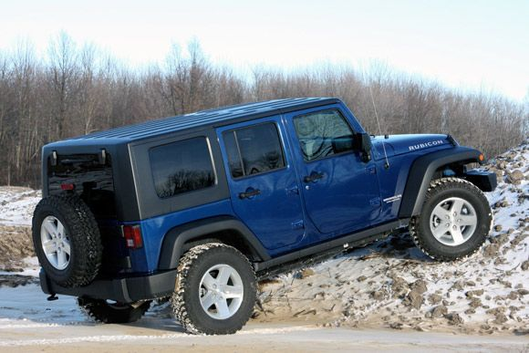 blue jeep wrangler | All photos Copyright ©2009 Chris Shunk / Weblogs, Inc.