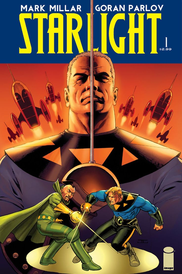 First Look: Mark Millar's New 'Starlight' Comic (Exclusive)