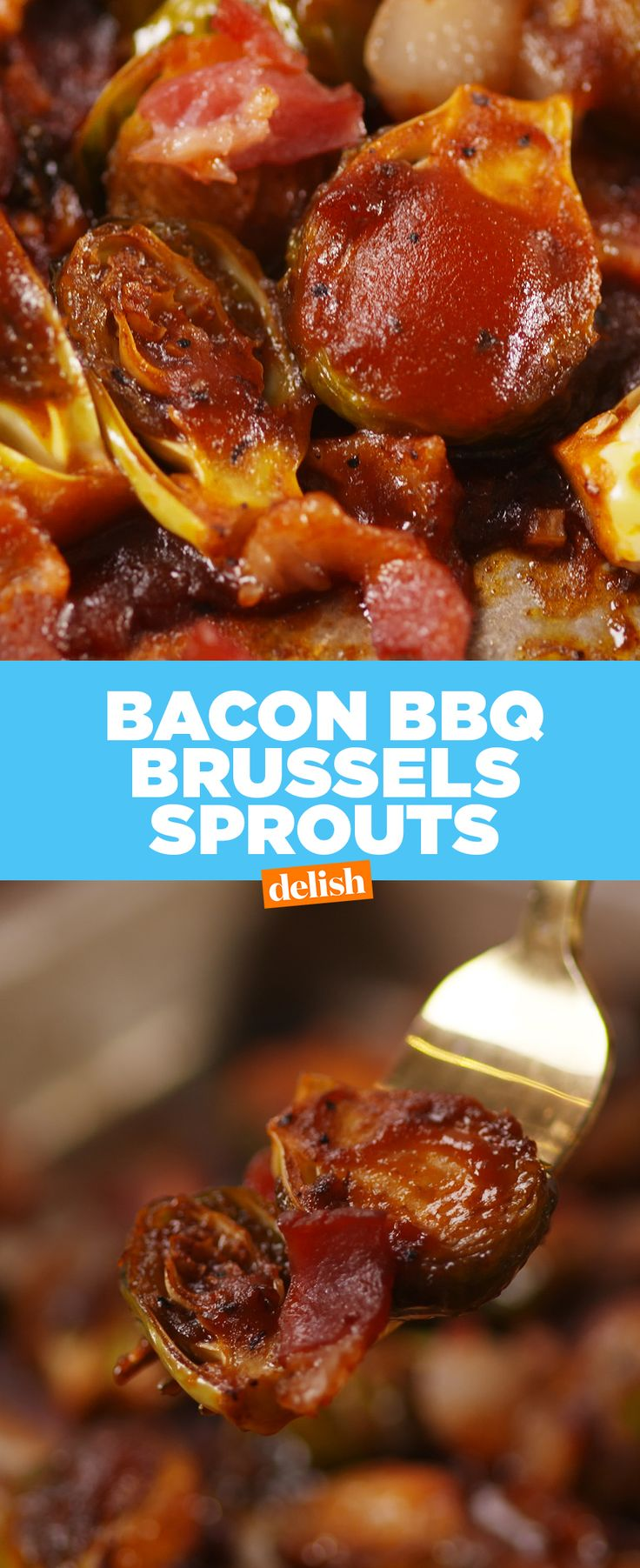 Brussels sprouts as you've never seen them