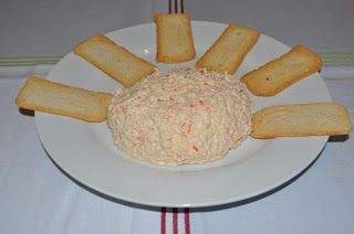 Paté de surimi (quesitos).