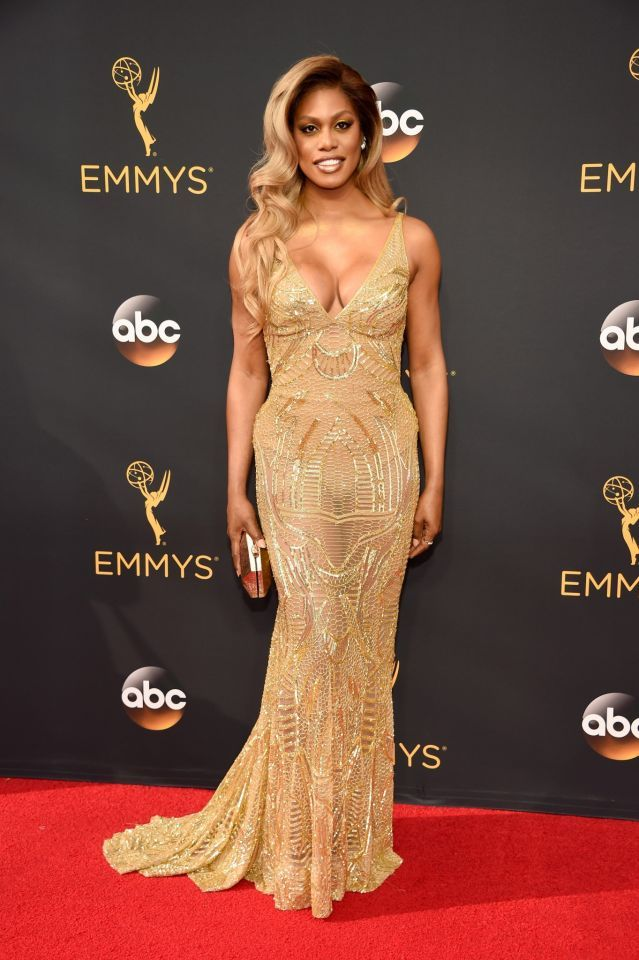 <p>Laverne Cox was a presenter, but looked as if she was campaigning for a…
