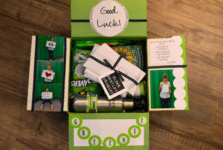 missionary greenie package