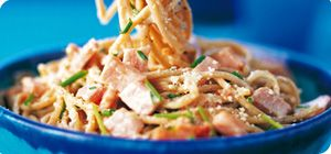 Spaghetti carbonara – Recipes – Slimming World, just had this for dinner and it was yummy