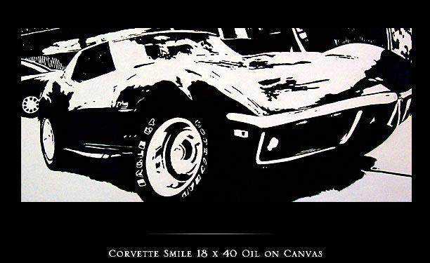 :: :: Cheryl Kelley artista fino y Painter  CORVETTE