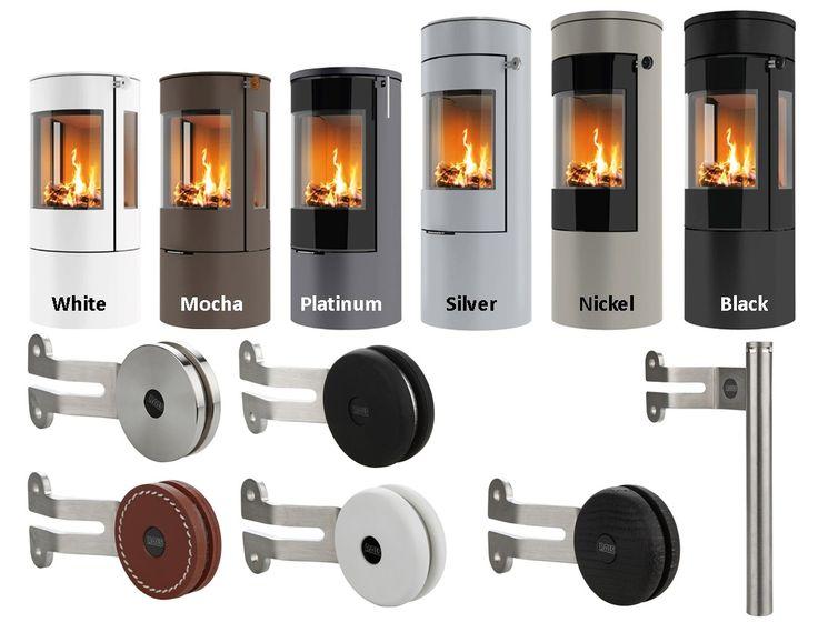 Rais Viva stove colour options and handles