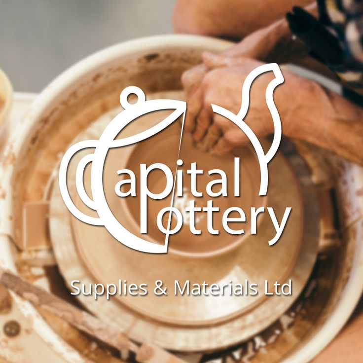 Another Logo design for ‪#‎capitalpottery‬ website by vethics