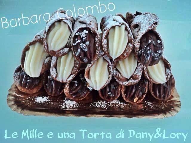 Condividi la ricetta...Condividi la ricetta... RICETTA DI: BARBARA COLOMBO Per la cialda: 220 gr di farina, 30 gr di burro,burro, 30 gr di zucchero semolato, 80 gr di marsala, 1/2 cucchiaio di aceto, 1/2 cucchiaio di cacao…