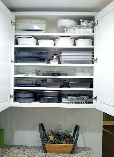 Baking Pan Cabinet Love