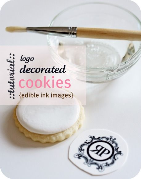 how to make logo cookies tutorial