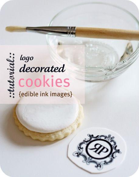 How to make logo cookies   Sweetopia