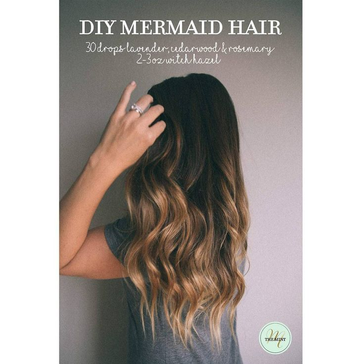 how to get mermaid hair waves
