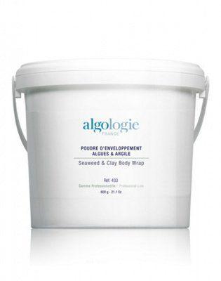Пудра для обертывания на основе морских водорослей и глины Algologie, 600 гр. от Algologie
