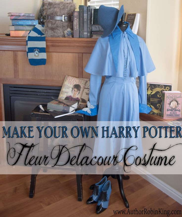 Harry Potter Beauxbatons Fleur Delacour Costume
