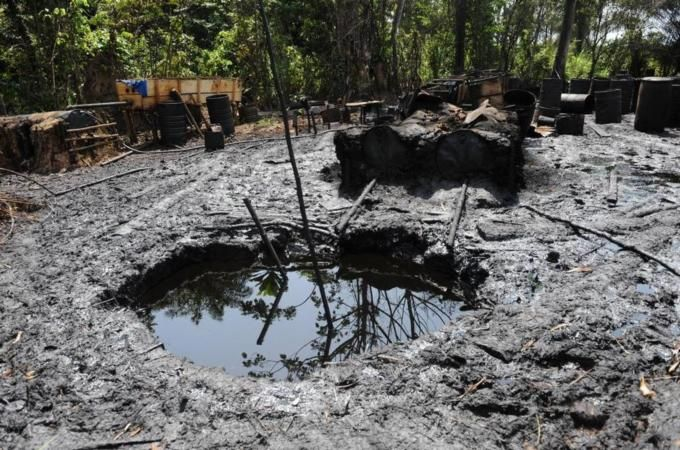 Africa's richest economy faces its worst oil crisis in years as criminal gangs make off with billions in stolen crude.