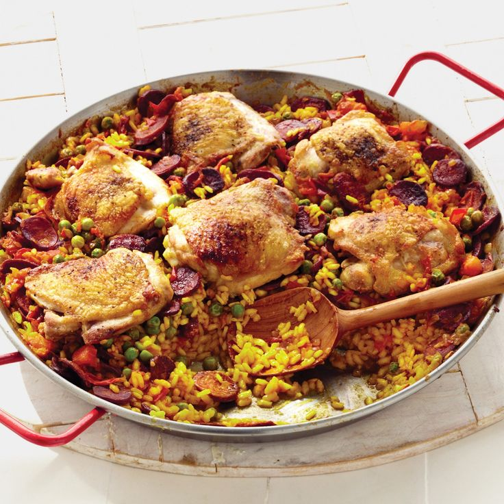 Chicken and Chorizo Paella
